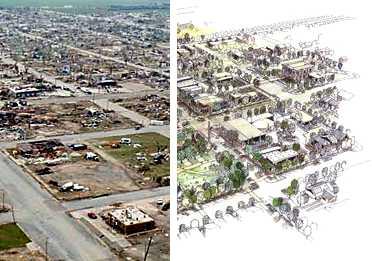 Greensburg Ks To Rebuild As Leed Platinum City Green Building Elements 2019