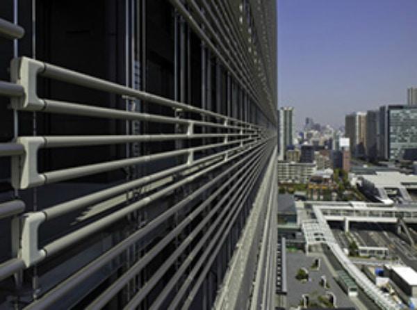 The NBF Osaki Building uses BioSkin facade system