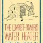 compost powered water heater
