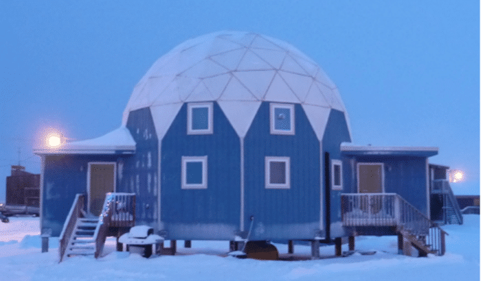 Arctic Circle Dome Home Energy Efficient Amp Affordable