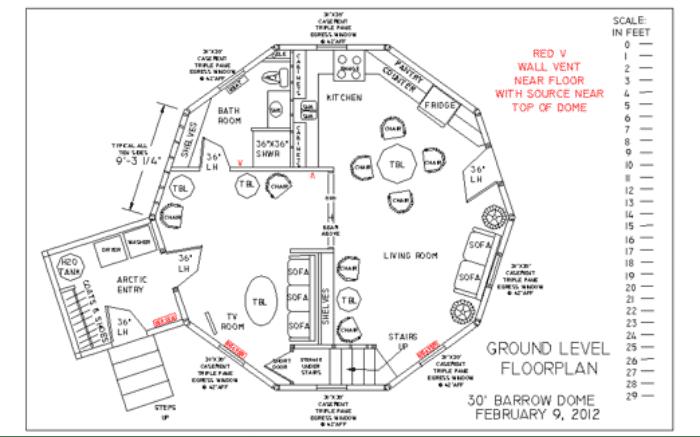 EconOdome floorplan 1
