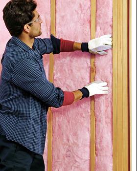 Fiberglass insulation from Owens Corning