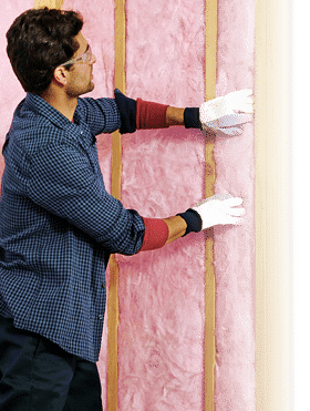 Fiberglass insulation from Owens Corning