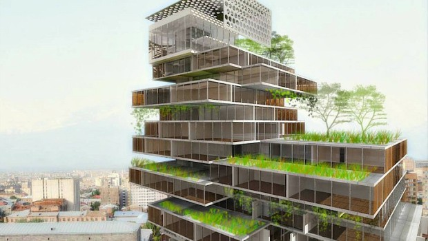 Net zero buildings are future of green building market net zero mercedes benz office building concept sciox Image collections