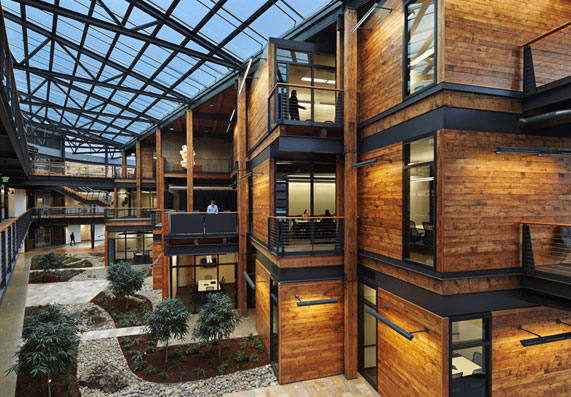 Wood is a sustainable, renewable building material