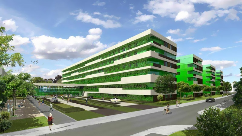 Next trend in passive house design passive hospitals - Passive houses in germany energy and financial efficiency ...