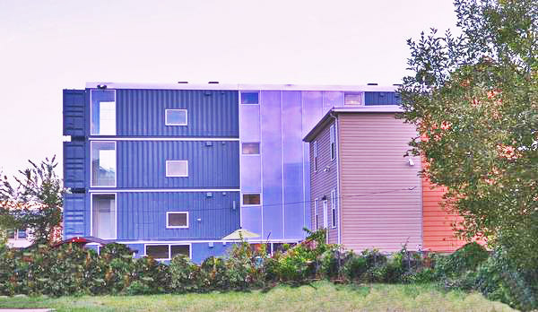 Dc 39 S First Shipping Container Apts Completed