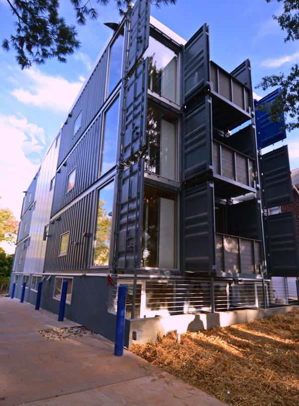 DC container apartments
