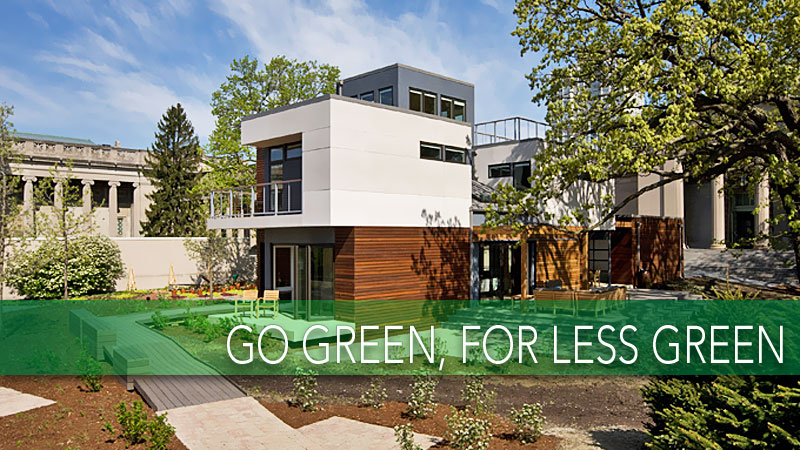 An energy efficient home doesn 39 t have to be expensive for Green home builders