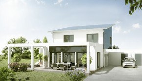 passive house - energy plus home