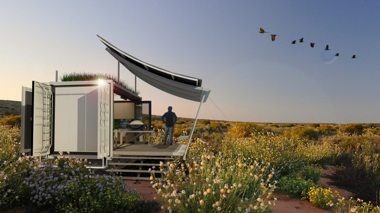G-pod Shipping Container Home