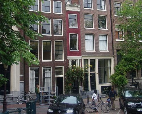 Amsterdam skinny house