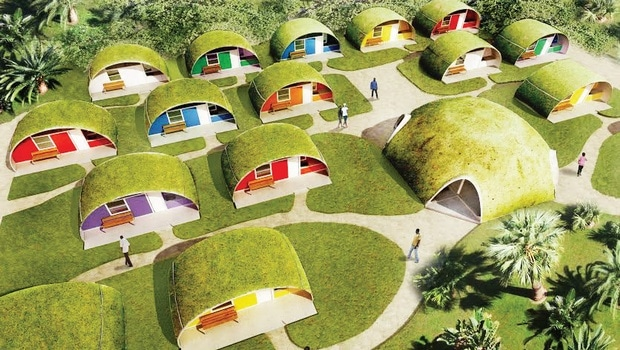 Binishells make affordable energy efficient homes for Cheap energy efficient homes