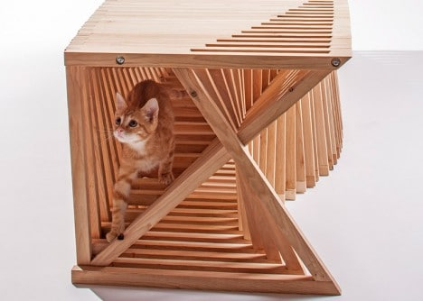Cat house design by Formation Association