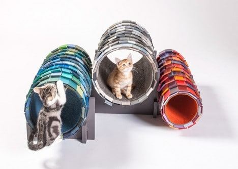 Cat tunnels designed by Nace