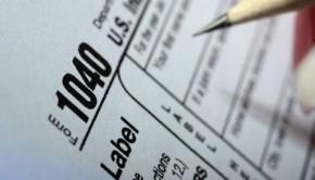 Form 1040 individual tax return