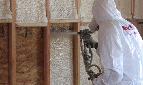 Green alternatives to spray foam insulation for Alternatives to spray foam insulation