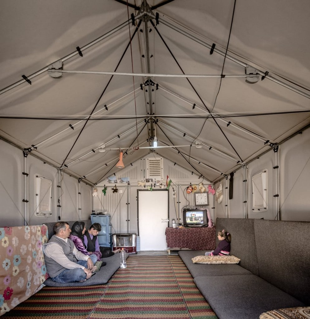 Better Shelter from IKEA provides a home for UN refugees.