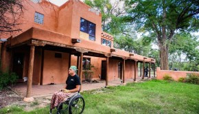 Not Forgotten Outreach of Taos New Mexico is repurposing a 6 bedroom B & B for disabled veterans.