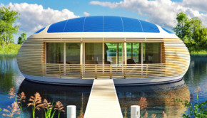 WaterNest 100 eco-friendly floating home
