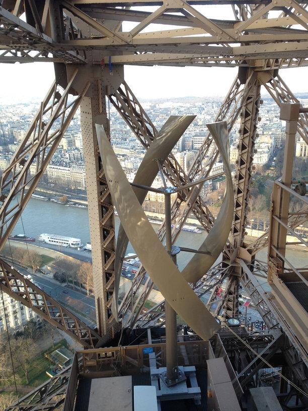 Eiffel Tower windmill