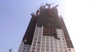 Prefabricated skyscraper Sky City in China