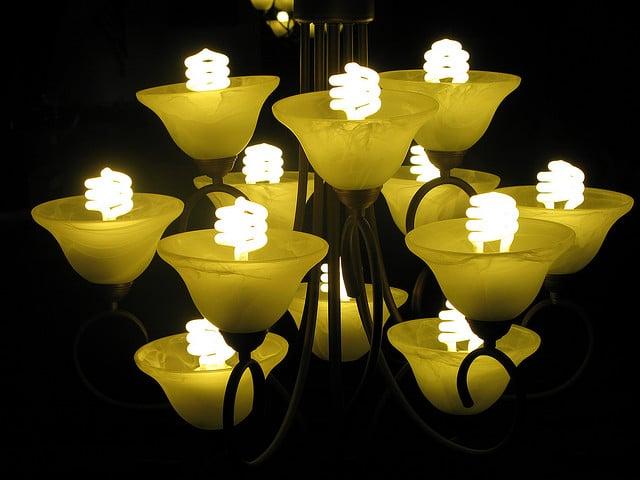 Energy saving CFL bulbs