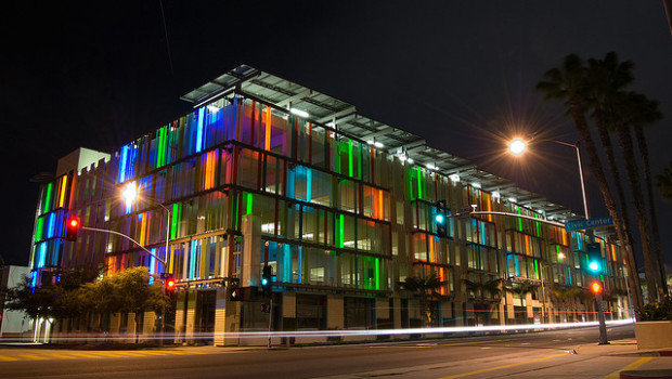 LEED certified parking structure