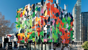 The Pixel Building in Melbourne Australia is one of the 12 most sustainable buildings in the world