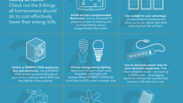 Energy saving tips