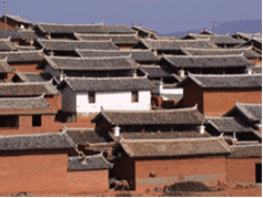 China is building entire villages out of rammed earth.