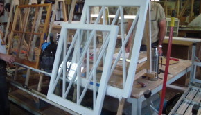 Old wooden windows can be rebuilt and preserved to give many more years of useful service.