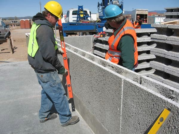 BluBloc insulated concrete forms