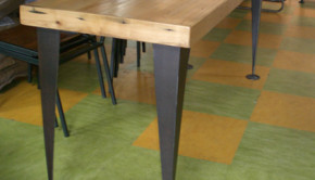 Artas Designs makes furniture from reclaimed materials.