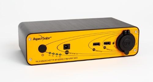 AspectSolar - EnergyBar 100 (PRNewsFoto/AspectSolar)
