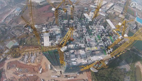 57 story building went up in 19 days in Changsha China