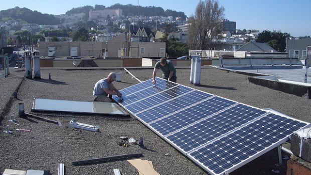 Solar power program in California