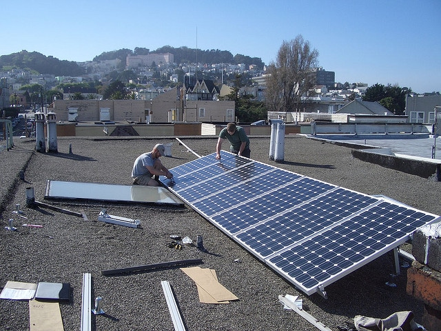 Solar power program in California