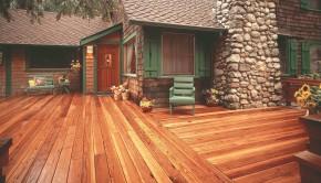 Refinishing redwood decking
