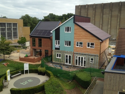 NexPower newest rooftop installation at BRE, UK. (PRNewsFoto/NexPower Technology Corporation)