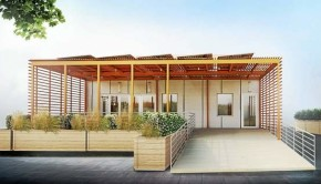 Yale Team's entry into this year's Solar Decathlon - Y House