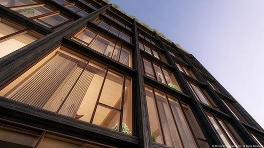 Tall wood buildings win awards