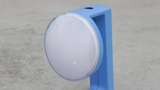 Solar lamp design winner