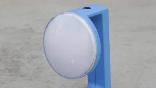 Solar lamp design winner