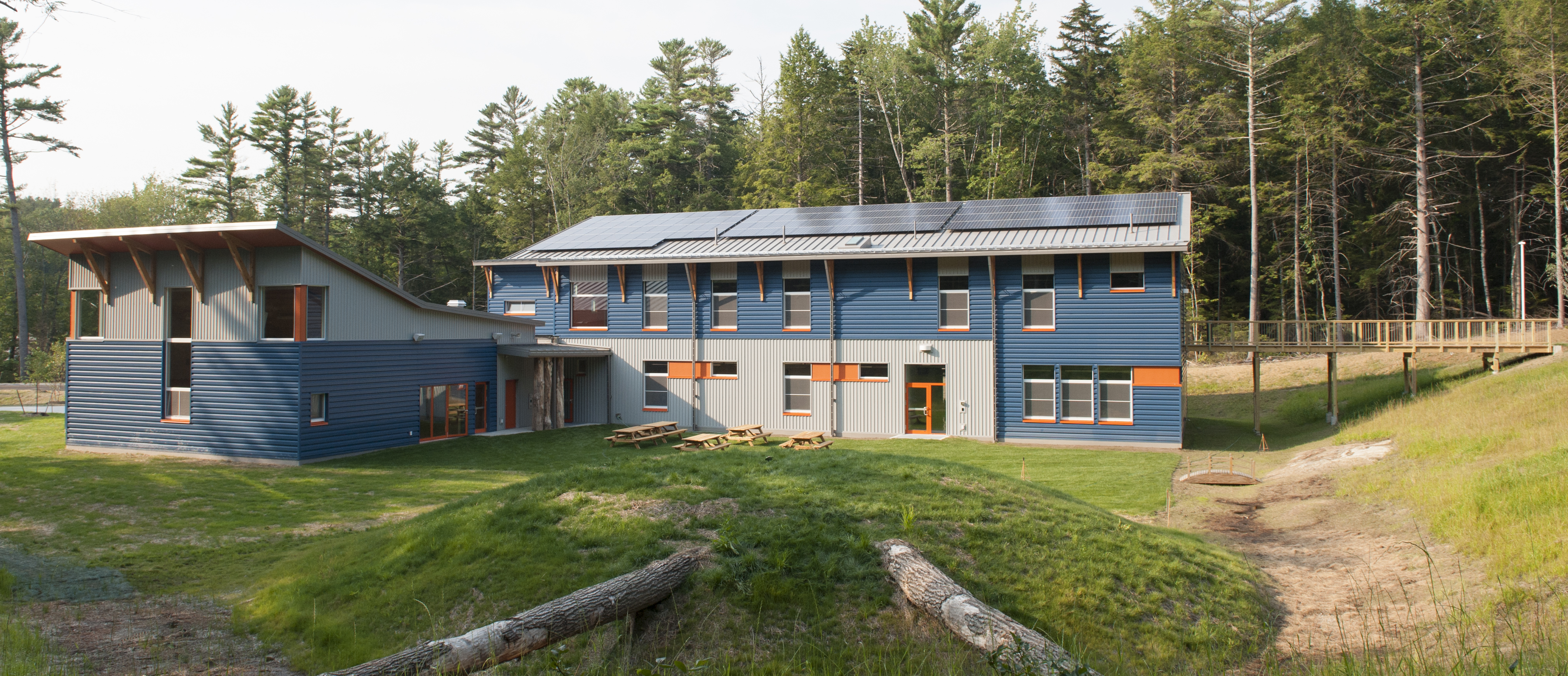 first passive house school in maine is also net zero energy - Net Zero Home Design