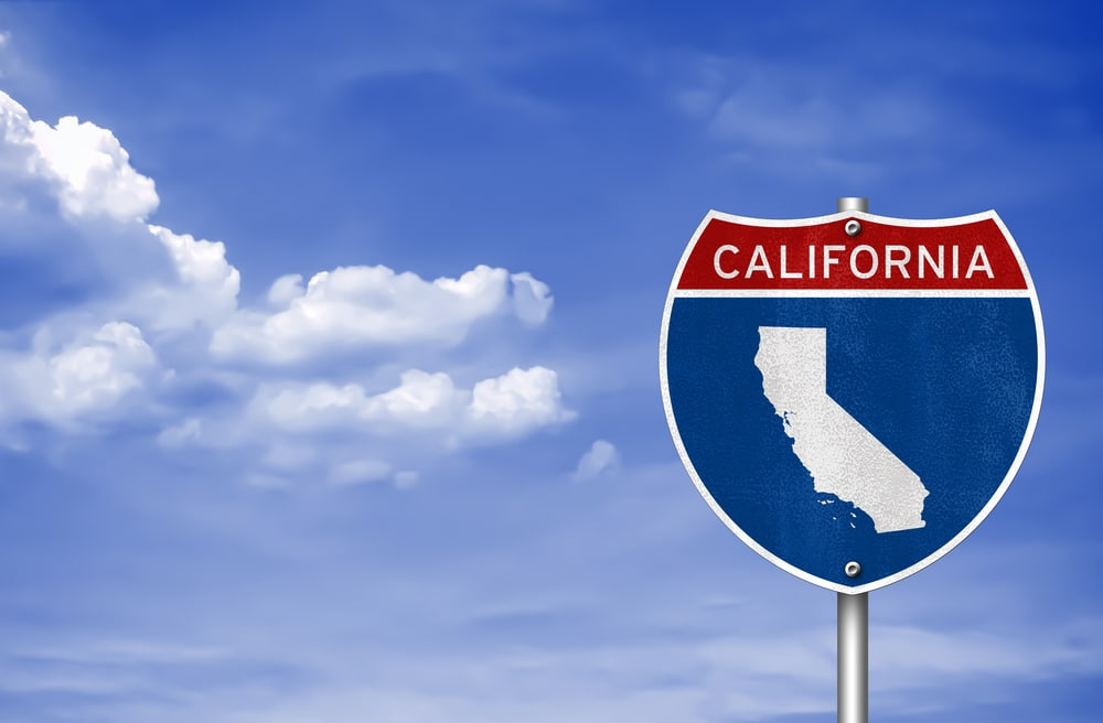 California road sign shutterstock_254354587