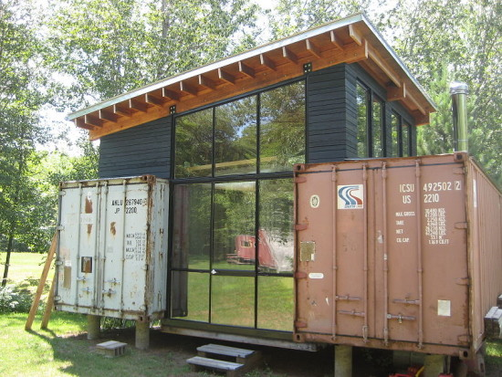 25 shipping container house plans green building elements - Shipping container homes cost to build ...