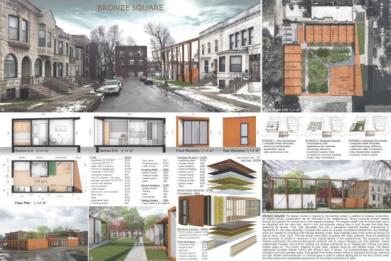 Winners of chicago 39 s tiny house design competition for Architecture house design competitions