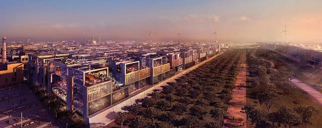 Masdar City near Abu Dhabi