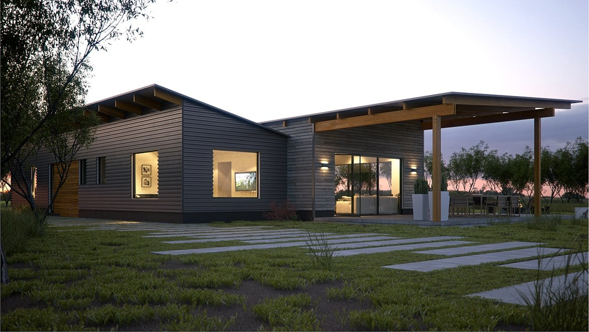 Net Zero Home Kits Available From Acre Green Building